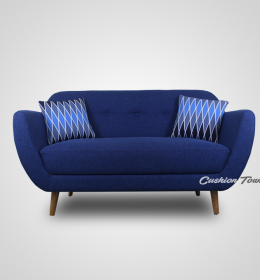 Sofa Tamu Retro Scandinavian Crysant 2 Seater