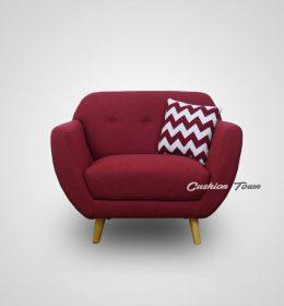 Sofa Tamu Retro Scandinavian Crysant 2 Seater