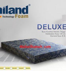 Kasur Busa Super Uniland Deluxe 160 x 200 x 20 cm Garansi 8 Tahun
