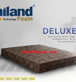 Kasur Busa Super Uniland Deluxe 180 x 200 x 20 cm Garansi 8 Tahun
