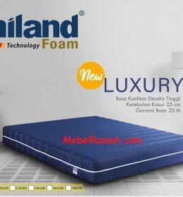 Kasur Busa Super Uniland New Luxury 160 x 200 x 25 cm Garansi 20 Tahun
