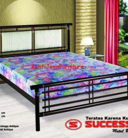 Ranjang Besi Success New Akasia 160 x 200 cm Tanpa Kasur