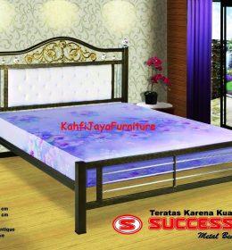 Ranjang Besi Success Anggrek 160 x 200 cm Tanpa Kasur