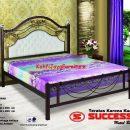 Ranjang Besi Tempa Success Grand 160 x 200 cm Tanpa Kasur