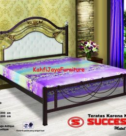 Ranjang Besi Tempa Success Grand 160 x 200 cm Tanpa Kasur